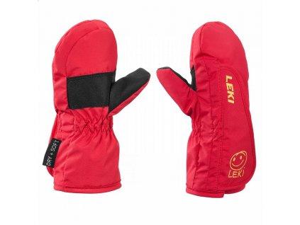 Leki Leki Glove Smiley Kids Mitt red-yellow-black